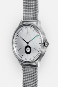CRONOMETRICS Architect S9 stainless steel watch (side view)