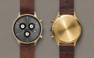 CRONOMETRICS Engineer L19 gold / gunmetal watch