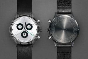 CRONOMETRICS Engineer L8 gunmetal / chrome watch
