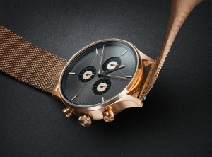 CRONOMETRICS Engineer S6 rose gold / gunmetal watch