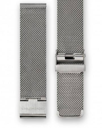 The CRONOMETRICS stainless steel Milanese strap