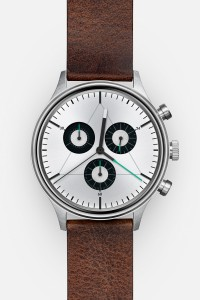 CRONOMETRICS Engineer L12 stainless steel watch (front view)