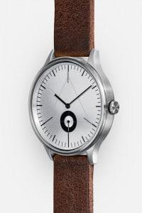 CRONOMETRICS Architect L9 stainless steel watch (diagonal view)
