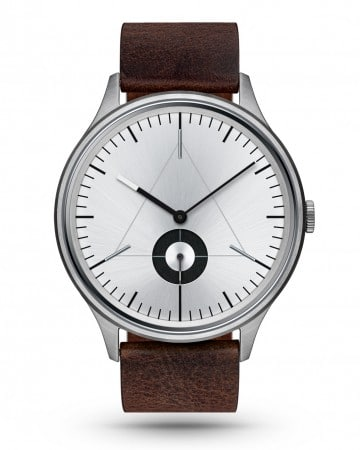 CRONOMETRICS Architect L9 stainless steel watch (front view)