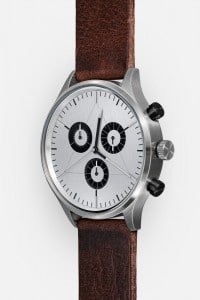 CRONOMETRICS Engineer L12 stainless steel watch (diagonal view)