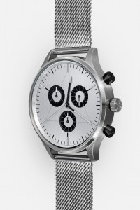 CRONOMETRICS Engineer S12 stainless steel watch (side view)