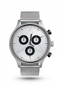 CRONOMETRICS Engineer S12 stainless steel watch (front view)
