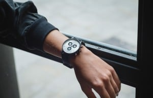 CRONOMETRICS Engineer L8 gunmetal / chrome watch (banner)